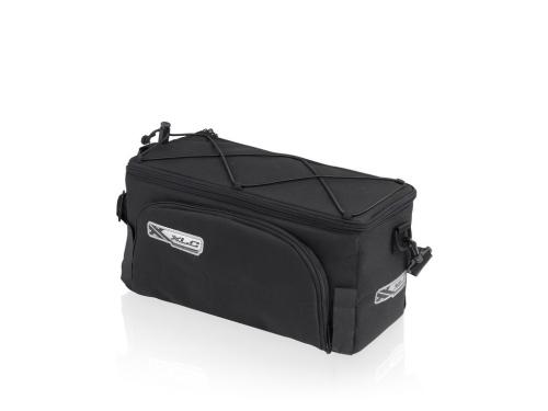 Táska csomagtartóhoz Traveller fekete 13-23 liter e465635255