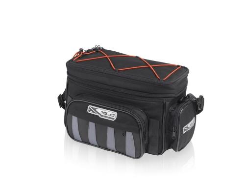 Táska csomagtartóhoz Traveller fekete 15-25 liter ec287f0e88